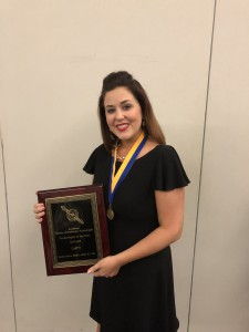 Jaclyn Verett Peters 2019 LSRT Technologists of the Year